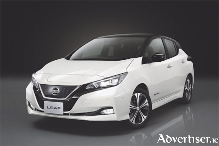 The new Nissan Leaf