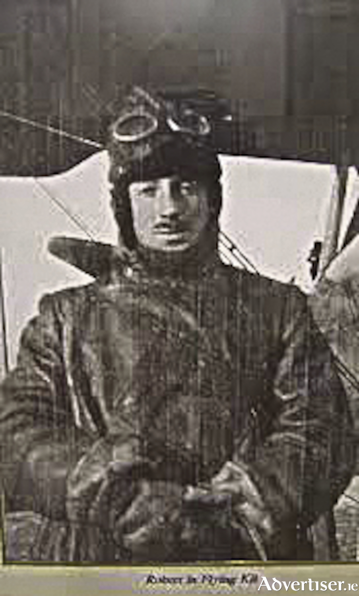 Major Robert Gregory MC, credited with nineteen aerial victories, died when his plane fell out of the sky over Monastiero, Padua, Italy, January 23 1918.