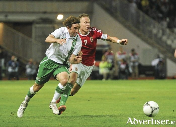 Former Irish International Stephen Hunt will be at the Mayo League's awards night next Saturday. Photo: Sportsfile