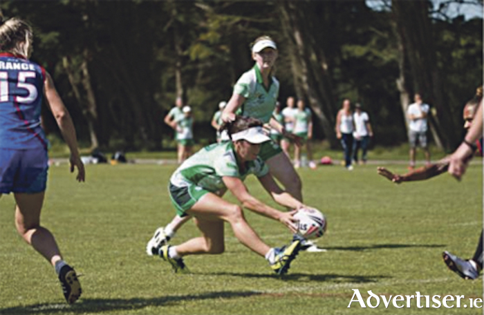 Ireland versus France during the 2016 European Touch Championships