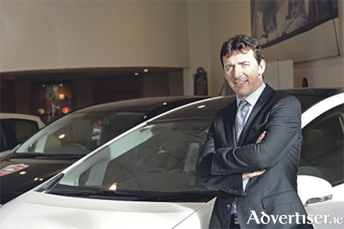Steve Tormey, chief executive with Toyota Ireland. Photo: Eric Luke/The Irish Times