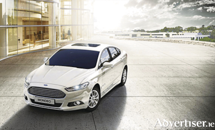 The new  Ford Mondeo hybrid.