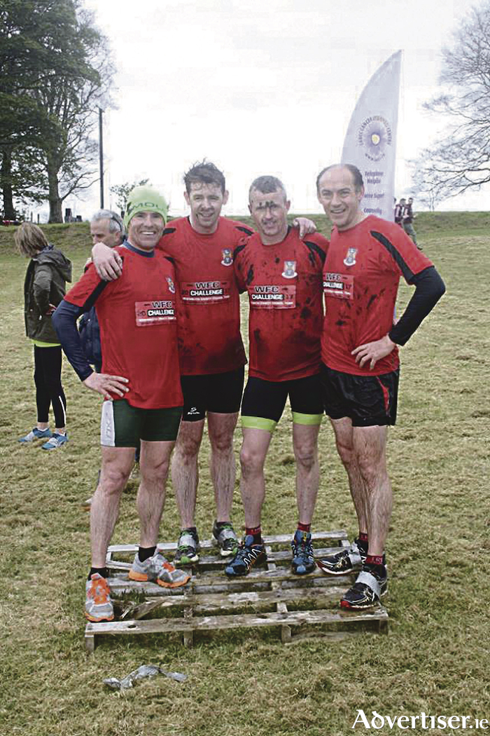 Westmeath County Council's winning mens team from last year: Michael Murphy, Murty Hanly, Mark Mc Cann and Bernard Groenewald