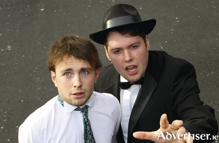 John Rice (Leo Bloom) and Shane McCormick (Max Bialystock) in GUMS staging of The Producers.