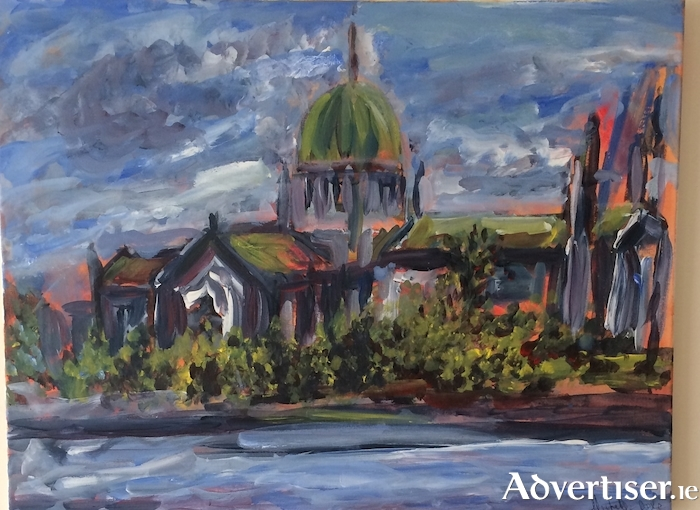 Michelle Doyle's depiction of Galway Cathedral.