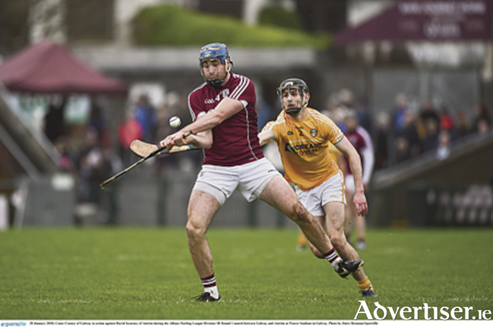 Conor Cooney in action in last Sunday's win over Antrim. Photo by Daire Brennan/Sportsfile.