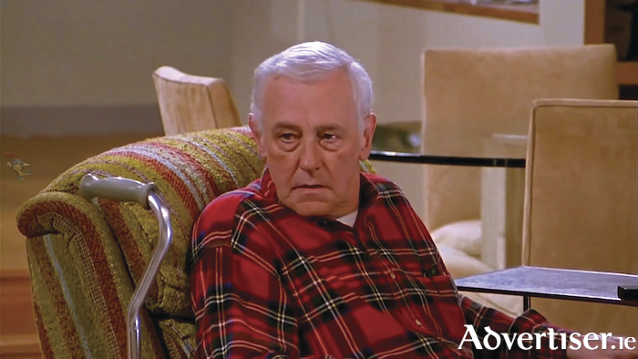 The late John Mahoney in the role of Marty Crane in classic US sitcom, Frasier.
