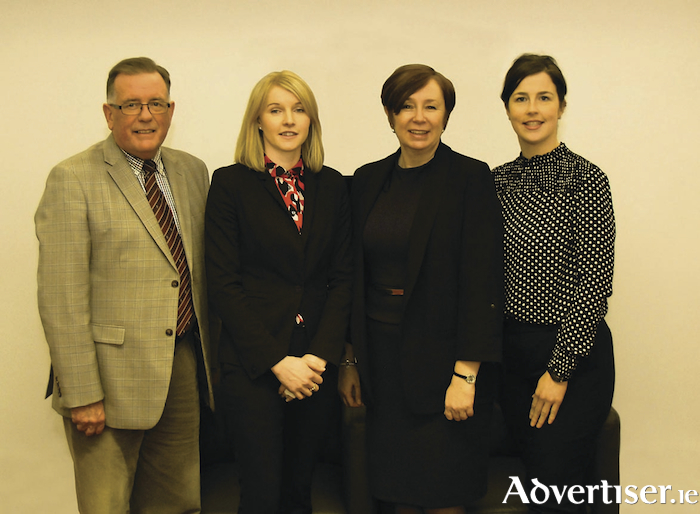 From left: PJ Power, managing director; Claire Moran, associate director; Susan Lenane, director; and Emma O'Meara, associate director.