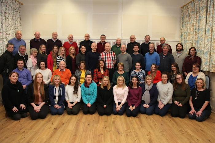 The cast of Ballinrobe Musical Society's production of My Fair Lady