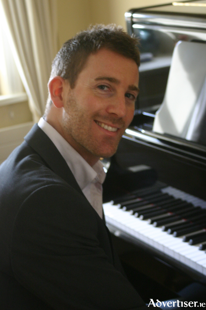 Mayo-born pianist Darragh Brogan performs at the Linenhall Arts Centre in Castlebar on Wednesday, February 14 at 8pm.