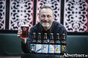 Marcus Robinson from Reel Deel Brewery who will be showcasing its craft beers in Dublin next month.