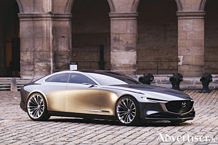 Mazda's stunning Vision Coupe.