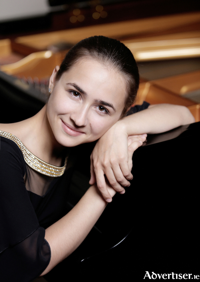 Acclaimed Russian pianist Anna Tsybuleva performs at the Linenhall Arts Centre in Castlebar on Wednesday, March 7.