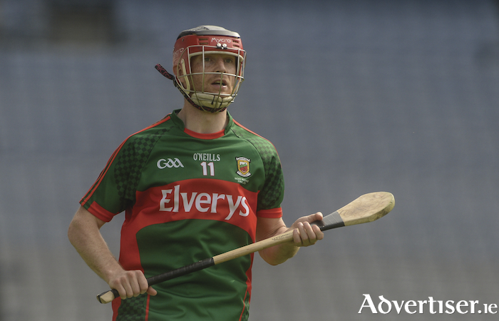 Small ball: Keith Higgins has been in fine scoring form for Mayo in the National Hurling League. Photo: Sportsfile