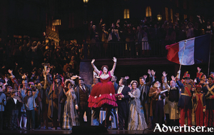 La Bohème at New York's Metropolitan Opera.