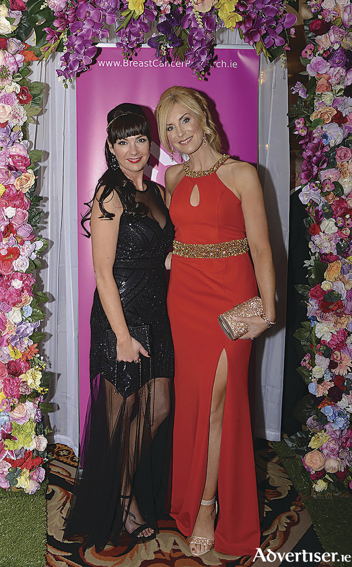 Attending the Breast Cancer Research Valentine's Ball at the Ardilaun Hotel were Daniella Gardiner and Michelle Murphy.   Photo: Tom Taheny.