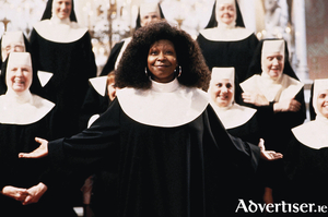 Whoppi Goldberg in the original 1992 film version of Sister Act.