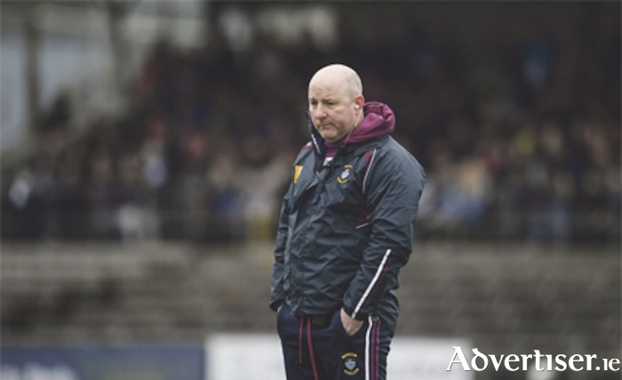 Westmeath manager, Colin Kelly. Photo: Sam Barnes/Sportsfile