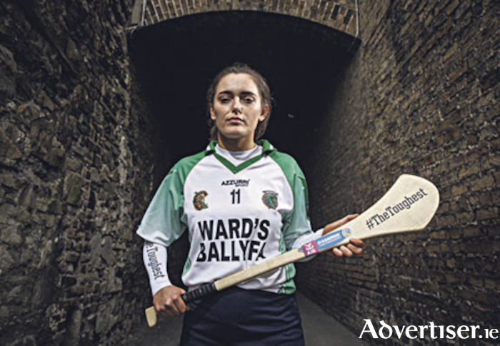 "Orlaith McGrath leads Sarsfields into a second All-Ireland Senior Camogie Club Championship final against champions Slaughtneil. Photo"" ©INPHO/Ryan Byrne"