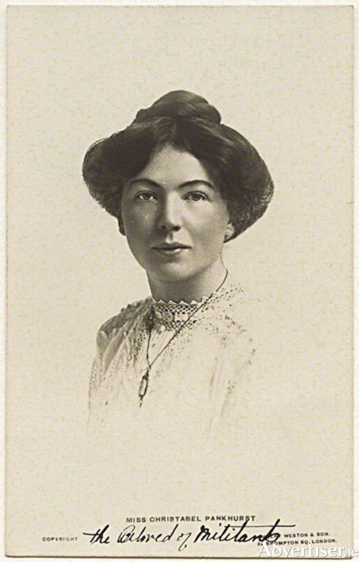 Christabel Pankhurst: 'Irishmen did not fully appreciate their women folk'.