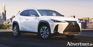 The new Lexus crossover.