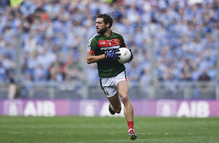 Ready to return?: The extra week lay off could have helped Tom Parsons chances of returning to action for Mayo this weekend. Photo: Sportsfile