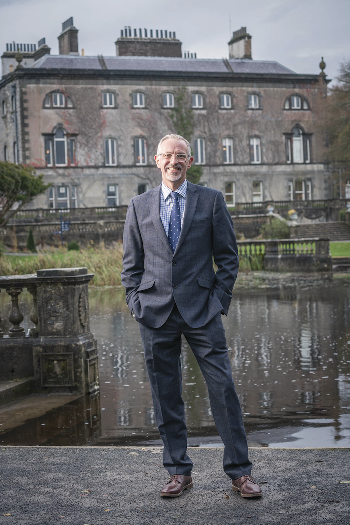 Looking to the future: Tim Husbands, chief executive officer of Westport House and Hotel Westport, is looking forward to a bright future. Photo: Keith Heneghan.
