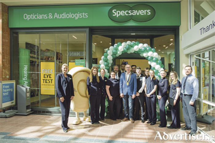The team at Specsavers Athlone