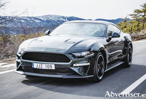 The new Ford Mustang Bullitt.