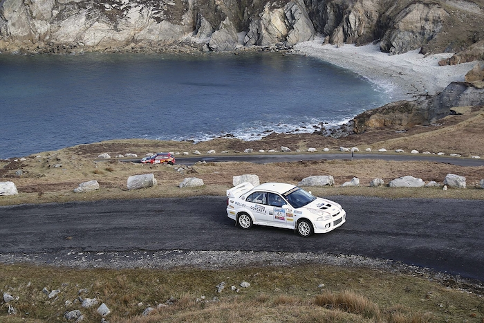 James McGreal, the top Mayo and District Motorsport Club finisher on the Mayo Stages last weekend in Achill. Photo: Seamus Counihan.