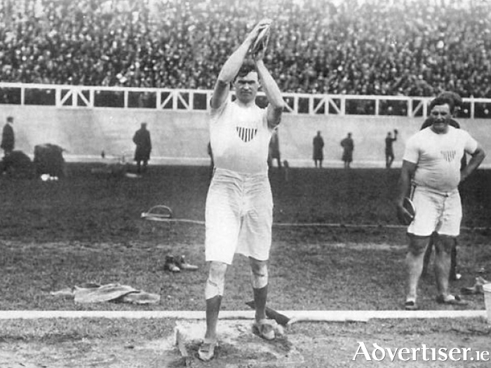 Martin Sheridan day to mark the centenary of the death of an Olympic legend
