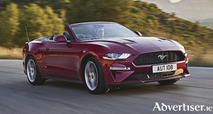 New Ford Convertible Mustang.
