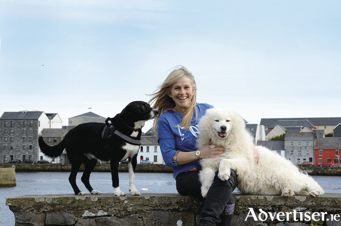Sharon Shannon pictured at the launch of the 2018 MADRA Dogathon.