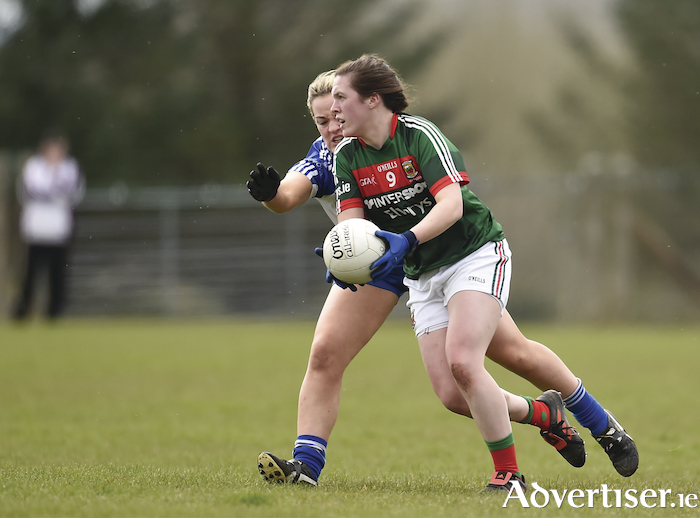 Mayo's Tamara O'Connor is one of a number of players who have been given a chance to shine during the league, by manager Peter Leahy. Photo: Sportsfile.