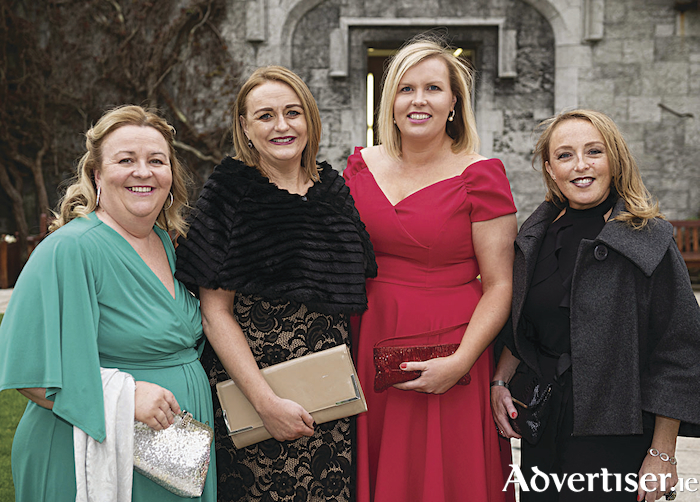 Pictured at the event were Cait Noone, GMIT, Jacinta Dalton GMIT, Elaine Donohue EU Region of Gastronomy 