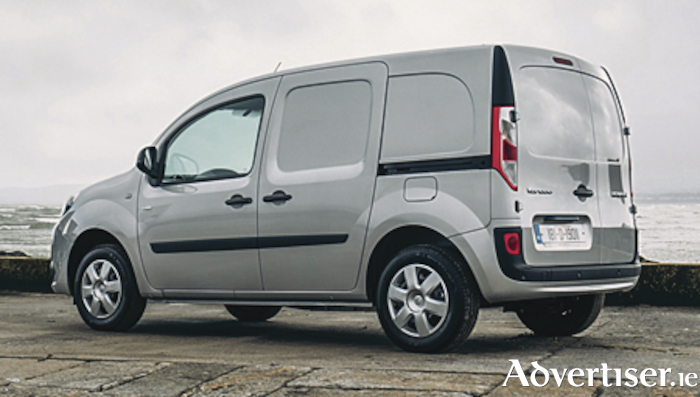 The new Renault Kangoo ZE.