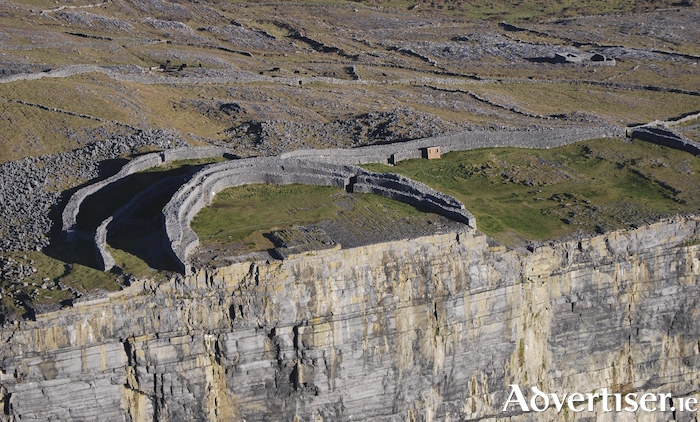 The prehistoric fort of Dun Aengus on Inis Mór.