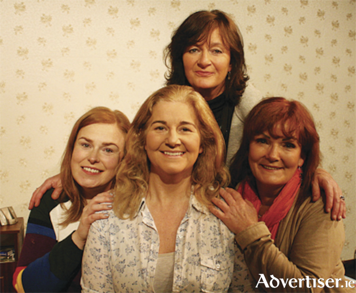 Sisters Catherine (Mary Johnston),  Mary (Tina O'Hara), and Teresa (Martina Breen) with their mother (Jenny Cooper)