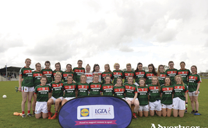 On the knock-out road: The Mayo ladies senior side who booked their place in the league semifinal last weekend. Photo: Sportsfile.