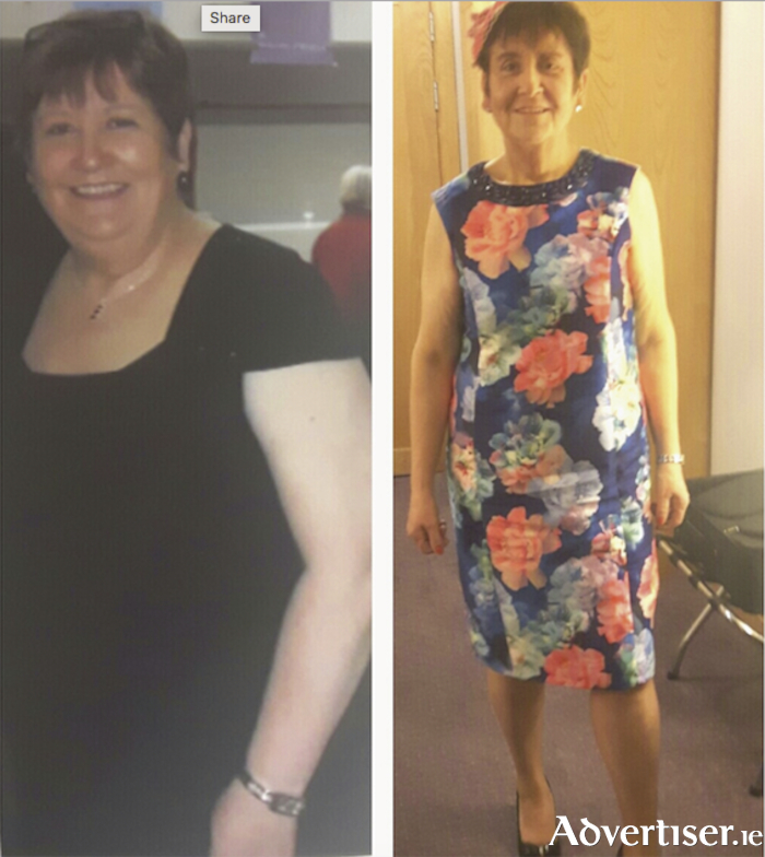 Super slimmer Sheila McLoughlin who runs the Slimming World classes in Ballyhaunis