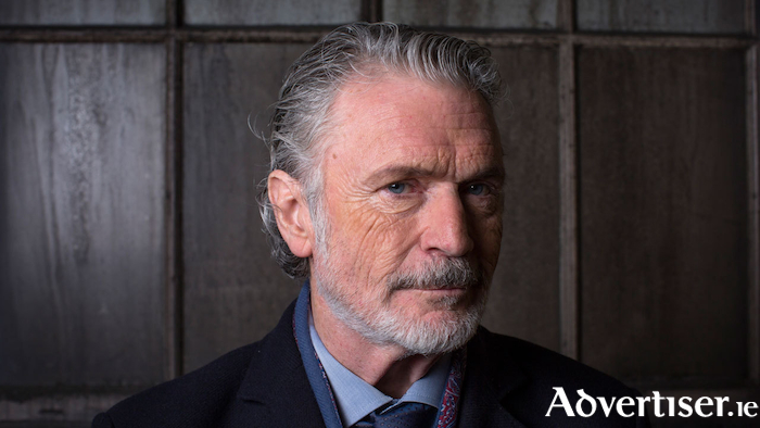 Actor and harmonica player Patrick Bergin.