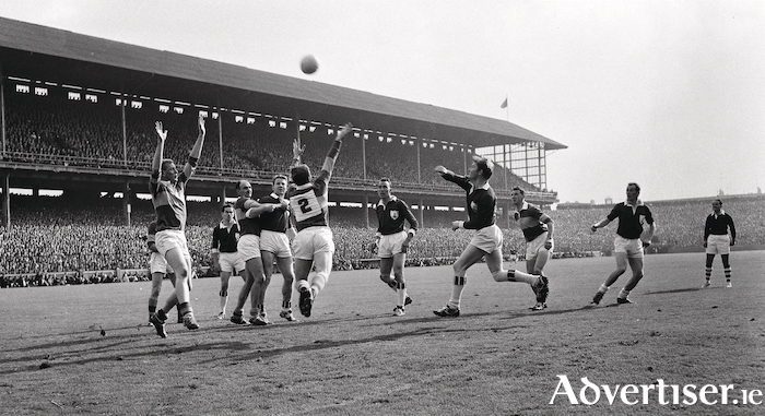 Galway defeating Kerry in the 1965 All-Ireland Championship. Photo:- Sportsfile