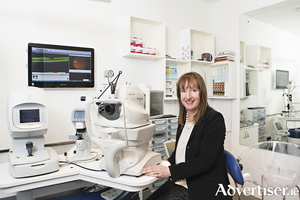 Elaine O'Sullivan FAOI optometrist 