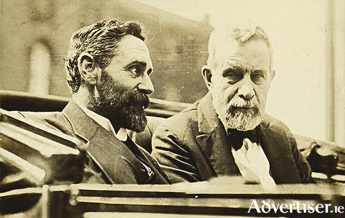 Roger Casement and John Devoy make plans for the Easter Rising in New York 1916.
