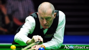 The great Steve Davis in action.