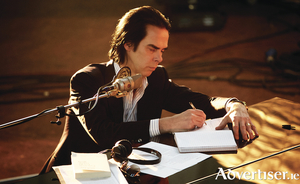 Nick Cave. Photo:- Kerry Brown