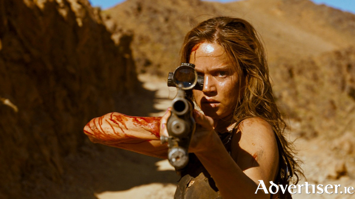 Matilda Lutz as Jen in Revenge.