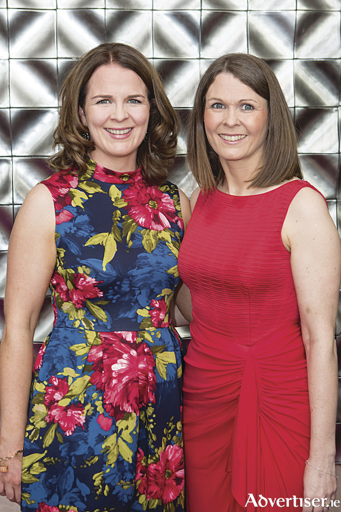 "Niamh McCarthy and Maire McCarthy, Galway Advertiser pictured at the Network Galway ""Business Woman of the Year Awards 2018"" in the g Hotel. Photo Martina Regan"