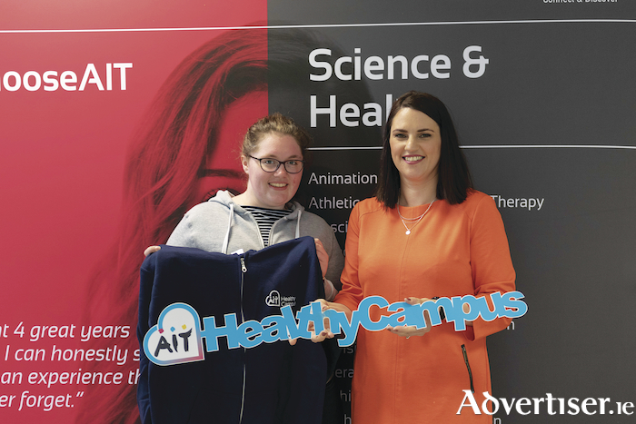 AIT student Megan Corcoran was honourably mentioned for her work on psychoactive drugs and how they are abused in the drug club scene