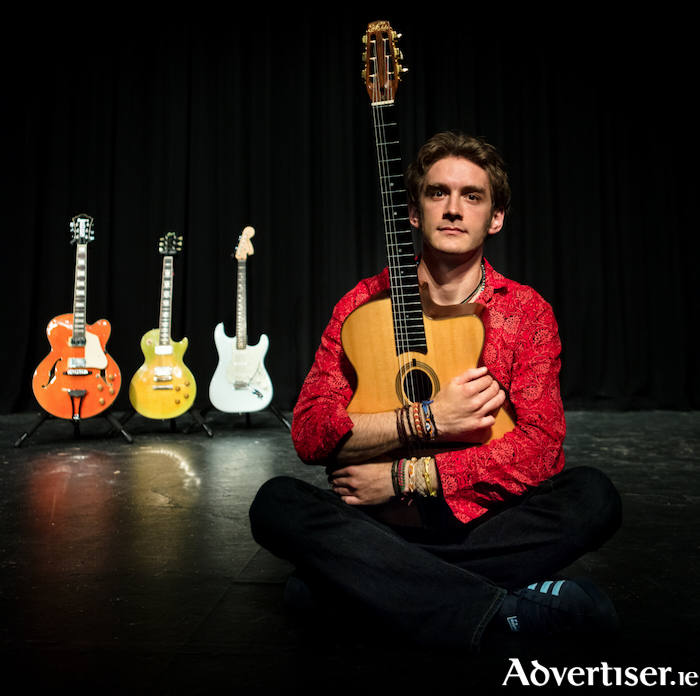 Ace guitarist Remi Harris comes to the Linenhall Arts Centre on Wednesday, May 30 at 8pm.